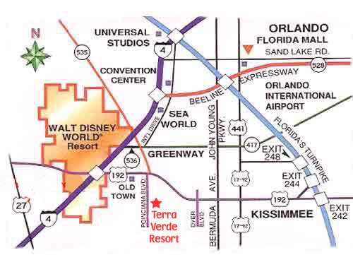 Map: Map Of Orlando With Theme Parks At Usa Maps